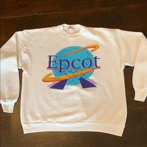Vintage Disney Epcot Sweatshirt XL